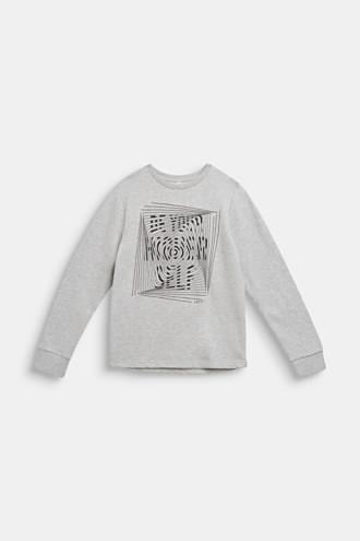 Statement print sweatshirt