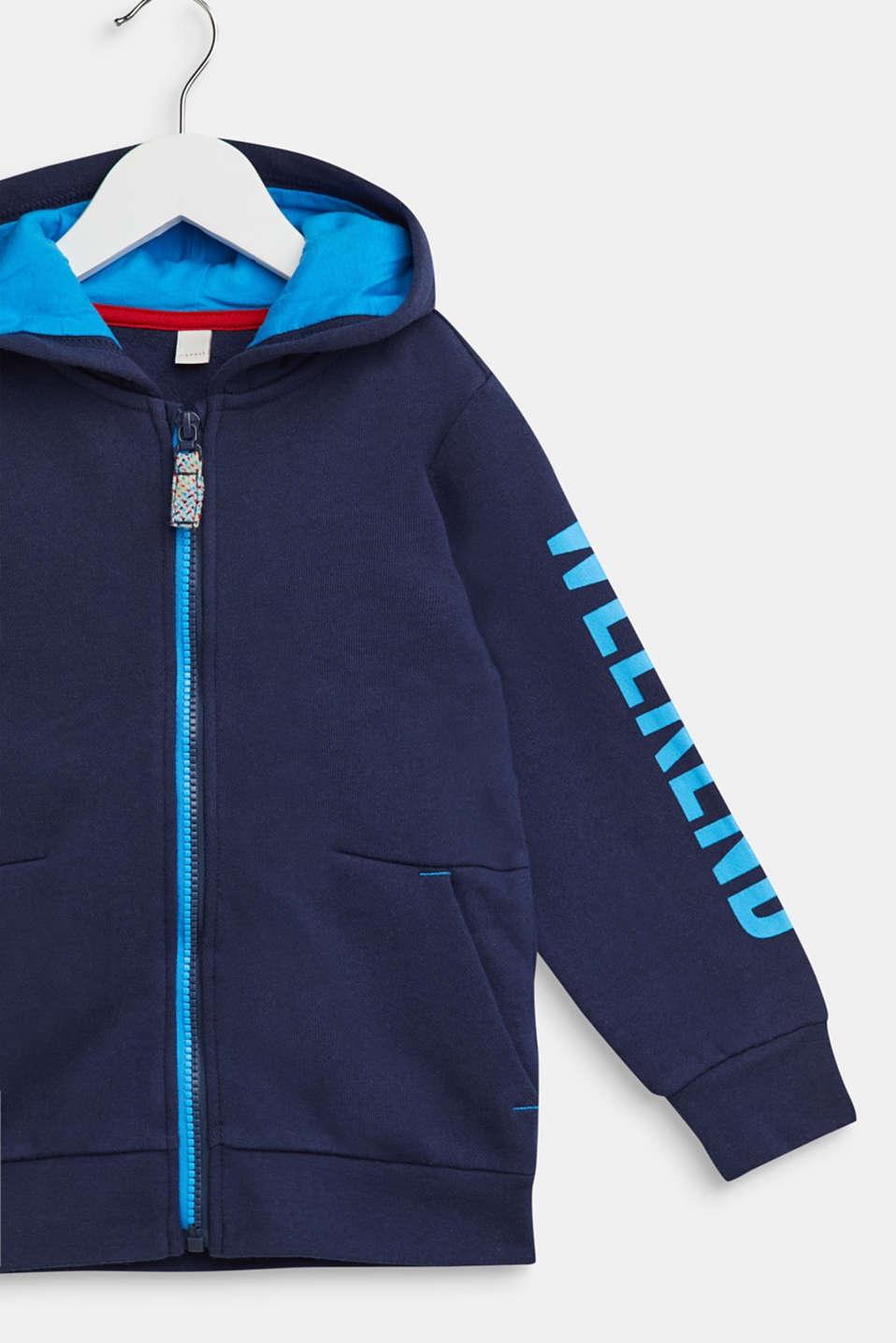 Fashion Cardigan, NAVY, detail image number 2