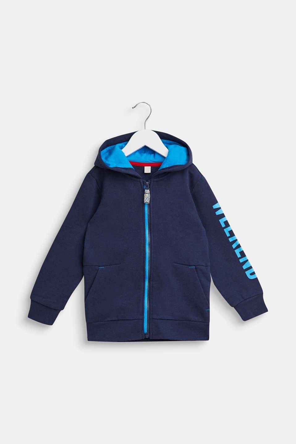 Fashion Cardigan, NAVY, detail image number 0