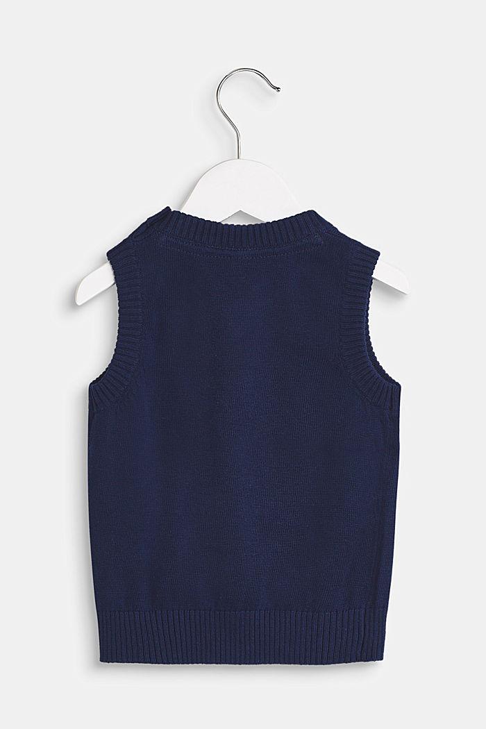 100% cotton tank top, LCMARINE BLUE, detail image number 1