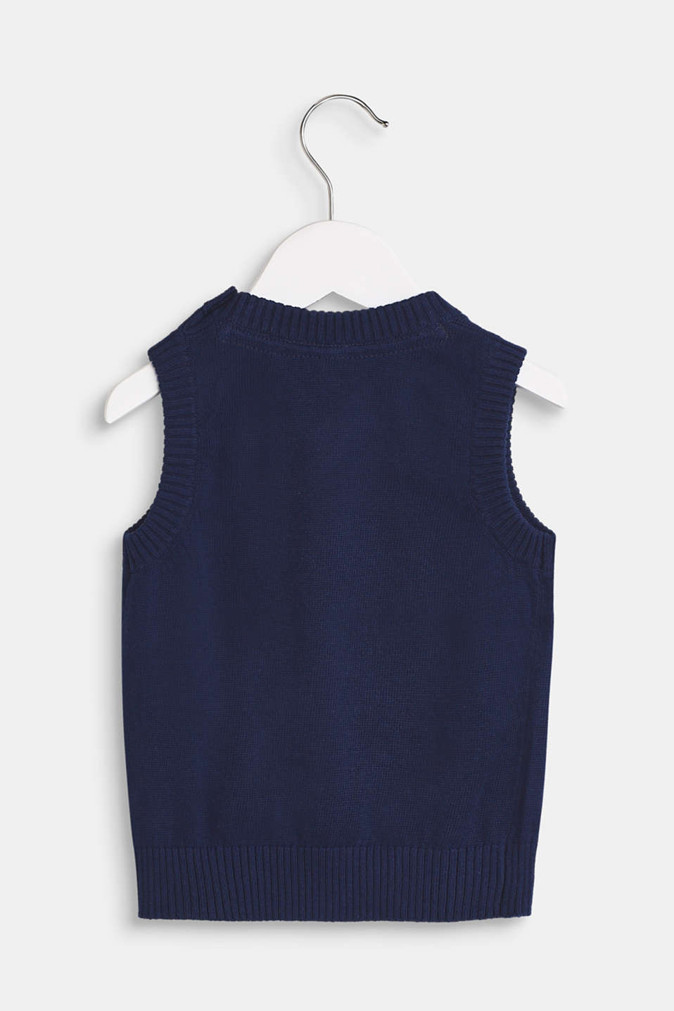 100% cotton tank top, LCMARINE BLUE, detail image number 1
