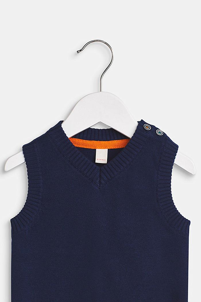 100% cotton tank top, LCMARINE BLUE, detail image number 2