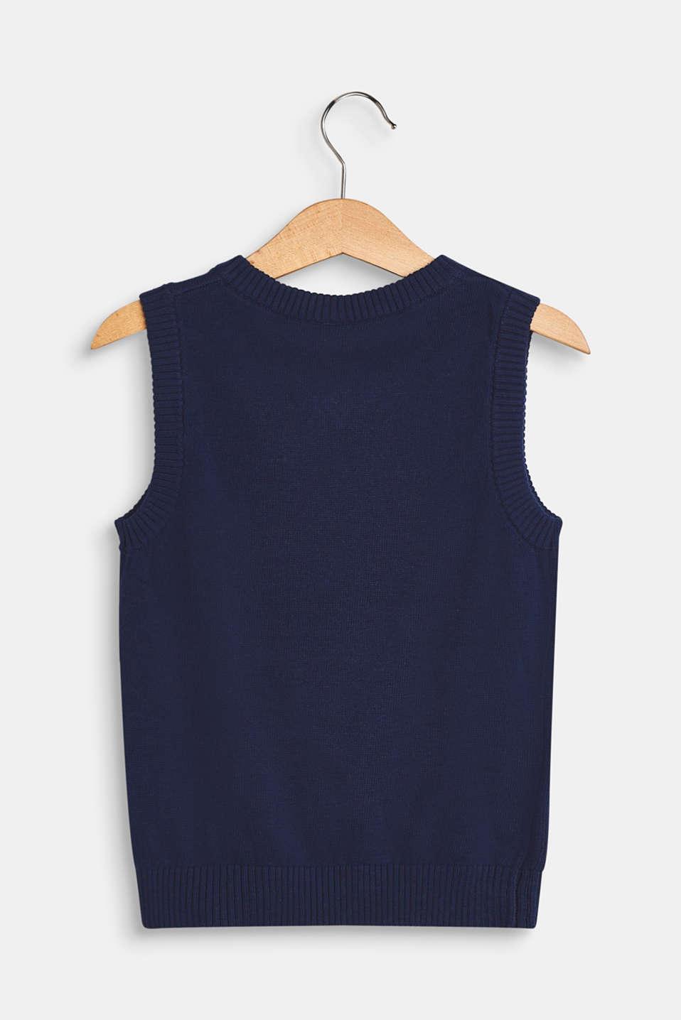 Sweaters, LCMARINE BLUE, detail image number 1