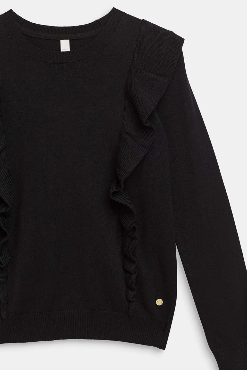 Sweaters, LCBLACK, detail image number 2