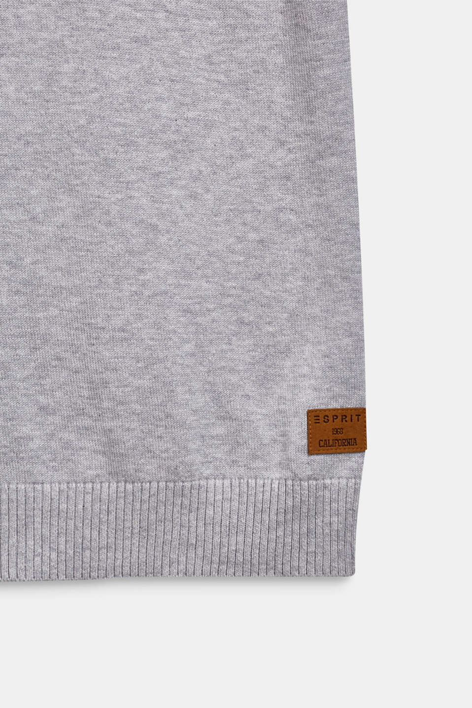 100% cotton tank top, LCHEATHER SILVER, detail image number 2