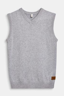 100% cotton tank top, LCHEATHER SILVER, detail