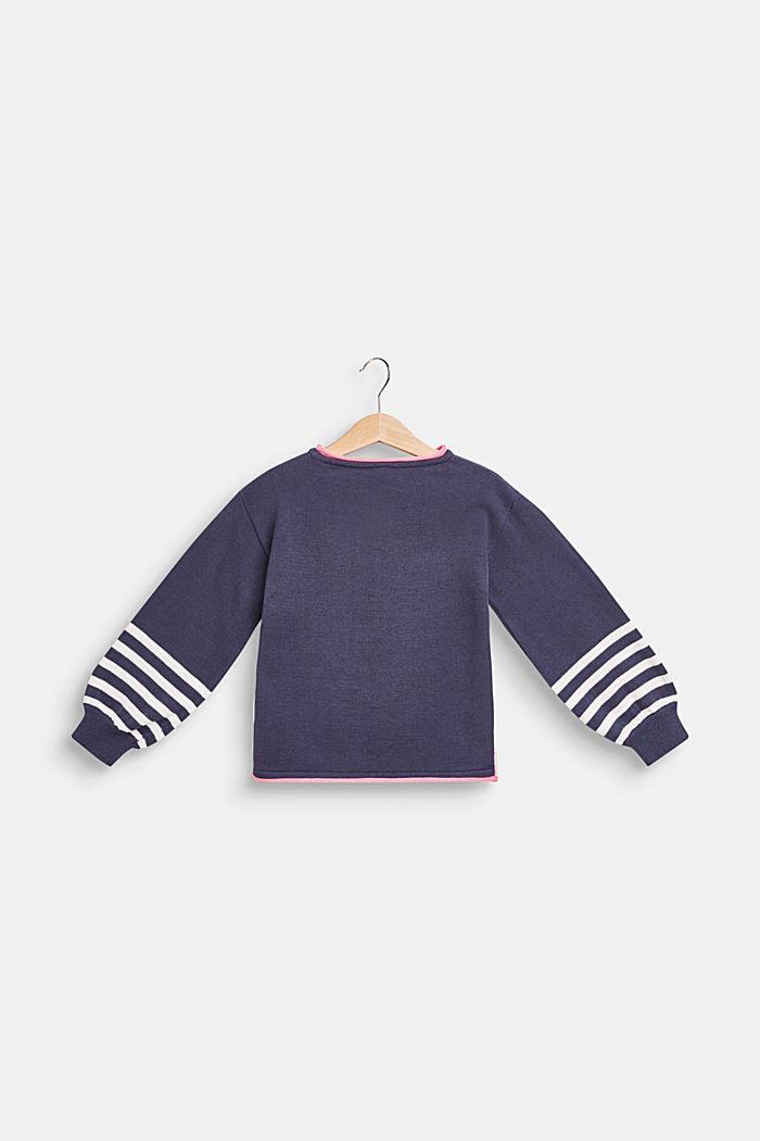 Pullover mit Pinguin-Motiv, 100% Baumwolle, MIDNIGHT BLUE, detail image number 1