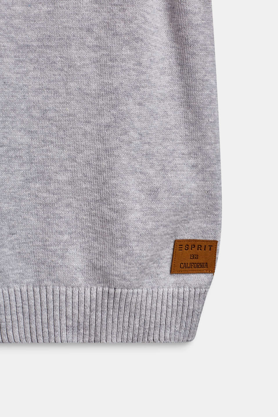 100% cotton tank top, HEATHER SILVER, detail image number 2