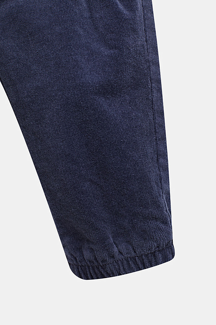 Hose aus Feincord, MIDNIGHT BLUE, detail image number 1