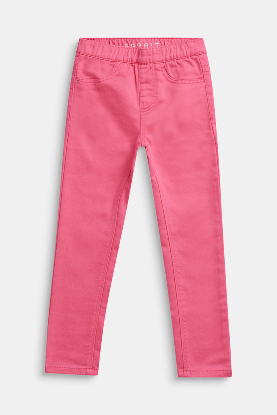 Esprit - Treggings made of soft woven fabric