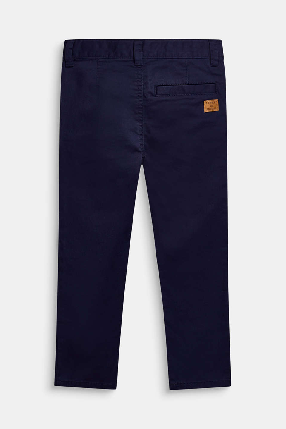 Stretch chinos made of twill, ULTRAMARINE, detail image number 2