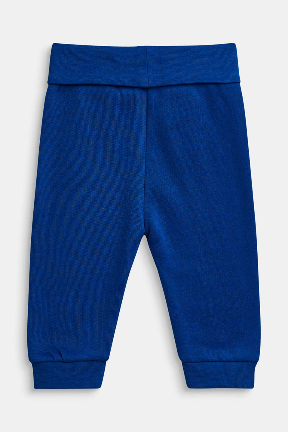 Tracksuit bottoms in 100% cotton, LCBRIGHT BLUE, detail image number 1