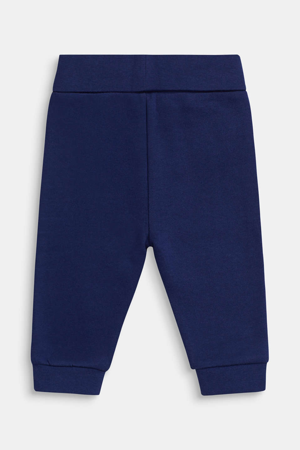 Tracksuit bottoms in 100% cotton, LCMARINE BLUE, detail image number 1