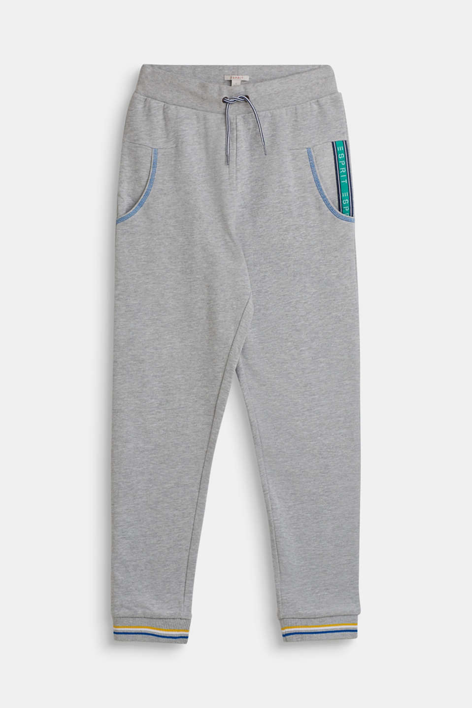 Esprit - Sweat-Pants mit Logo-Tape