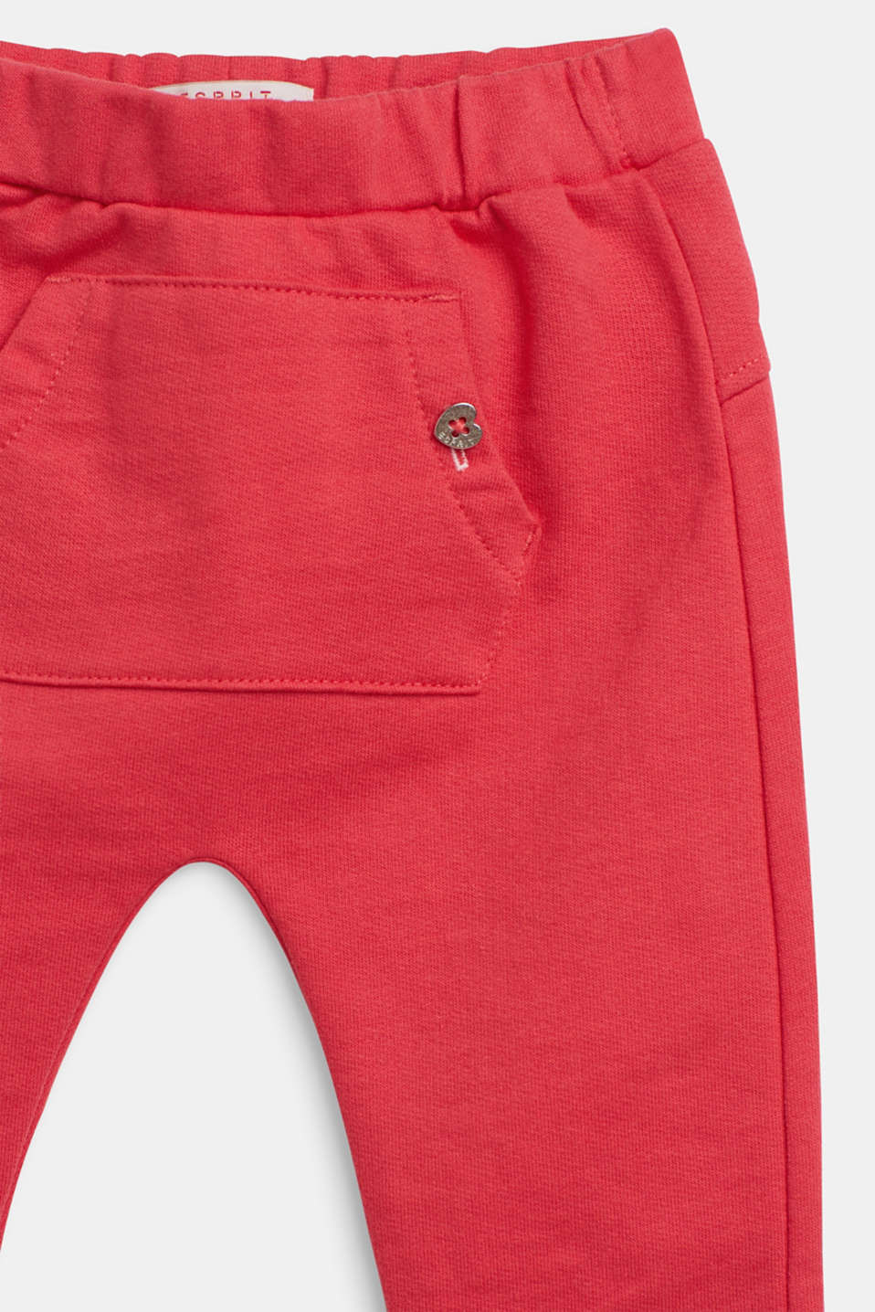 Tracksuit bottoms in 100% cotton, LCSTRAWBERRY, detail image number 2
