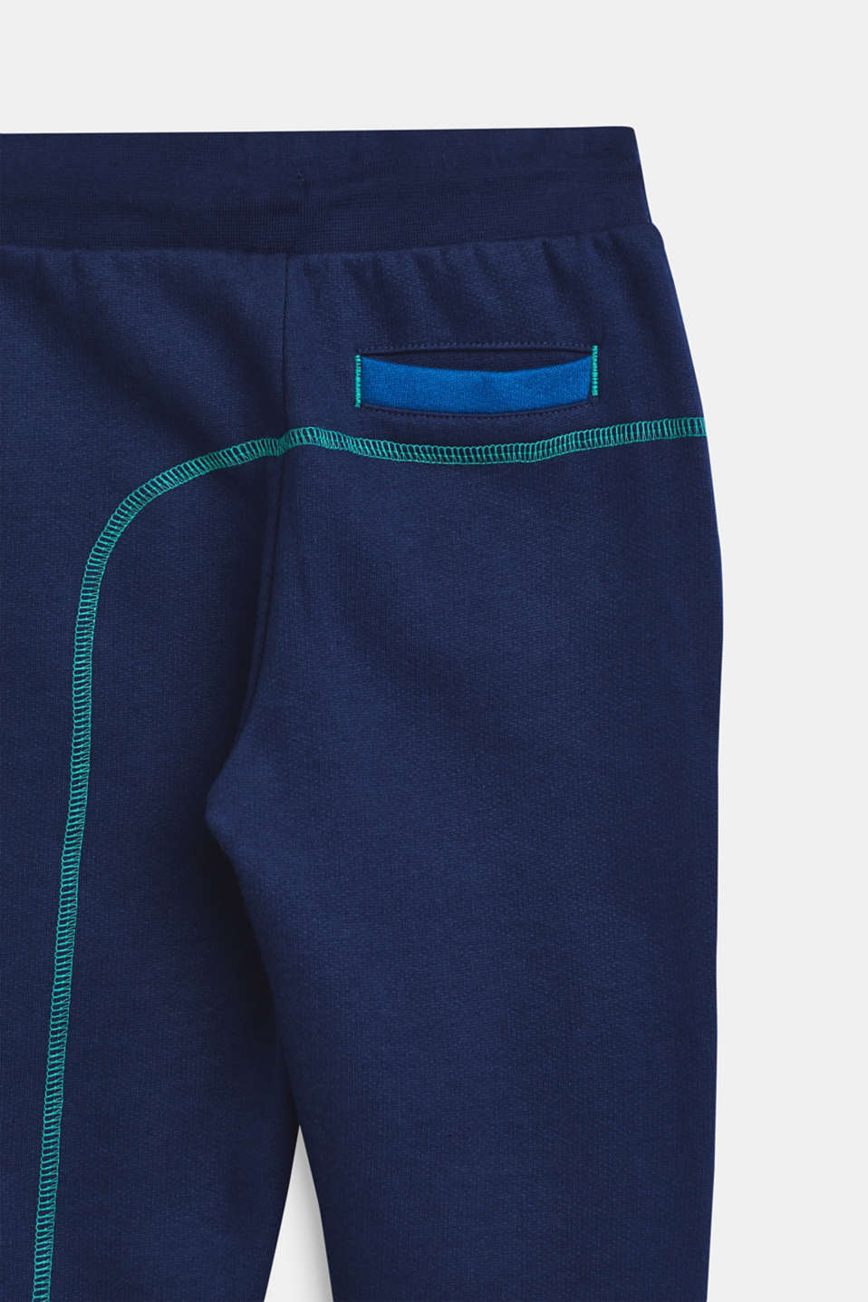 Pants knitted, LCMARINE BLUE, detail image number 3