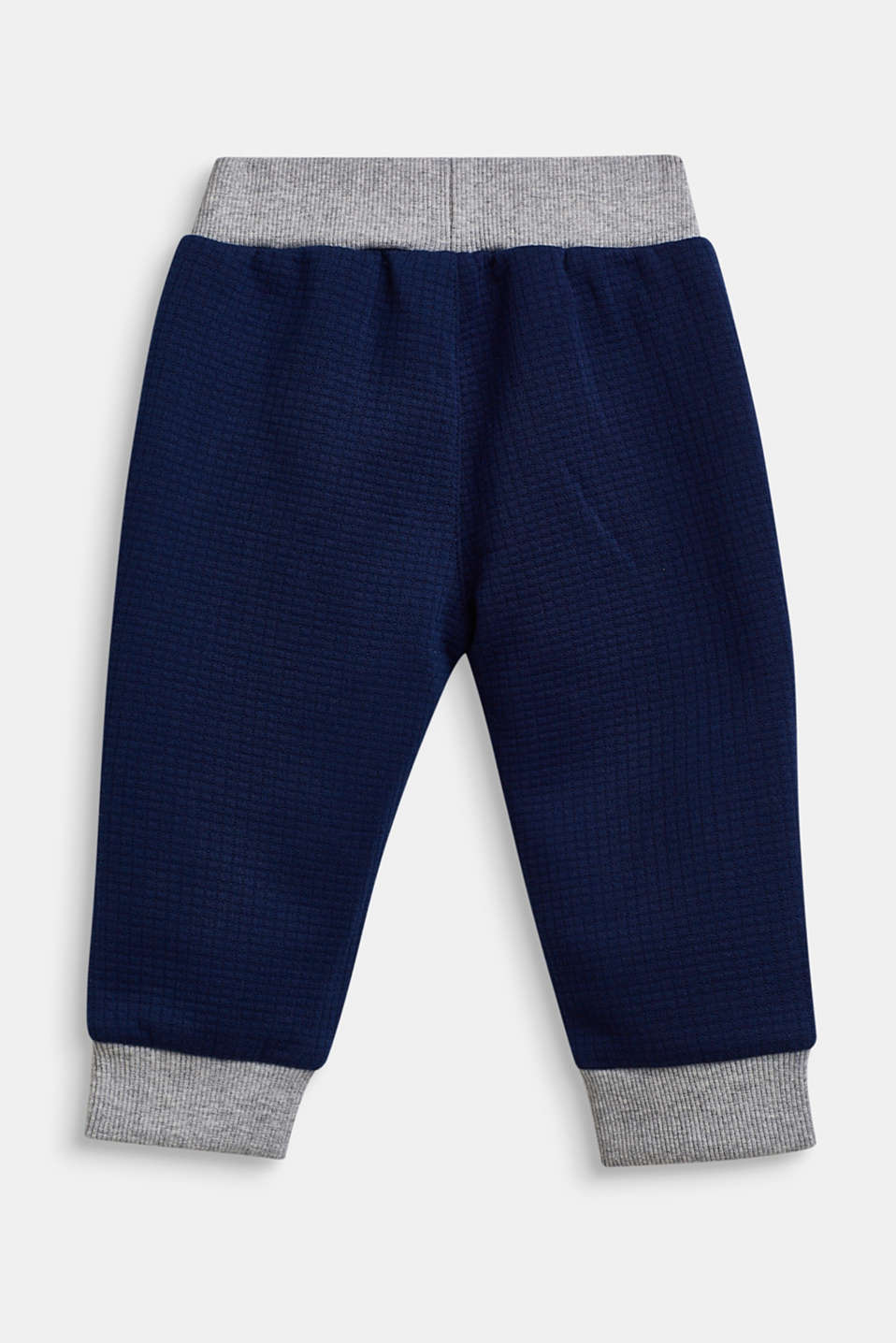 Textured tracksuit bottoms, LCMARINE BLUE, detail image number 1