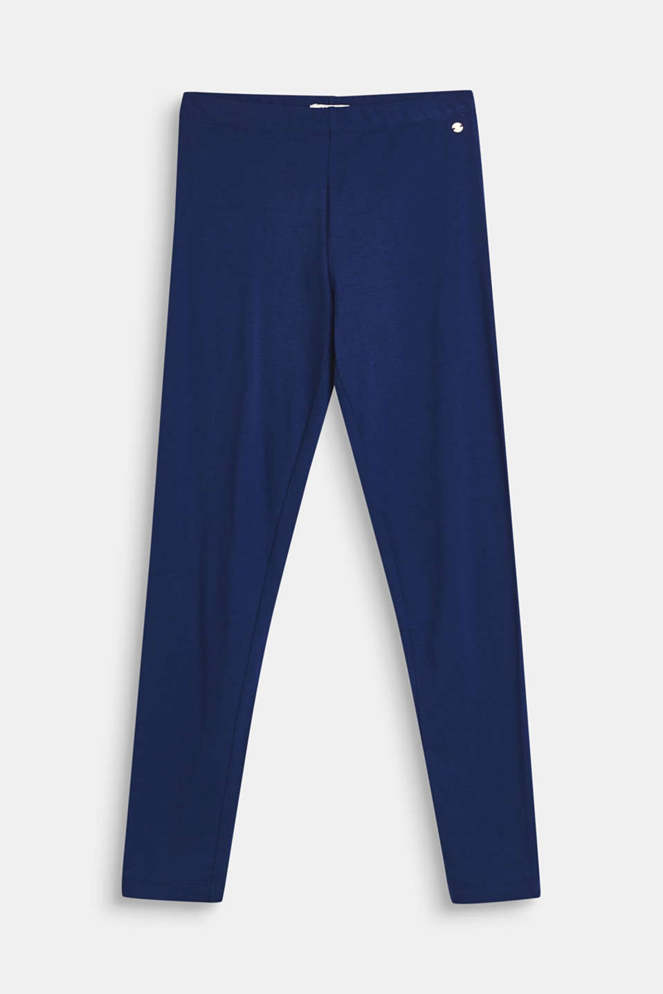 Pants knitted, LCMARINE BLUE, detail image number 0