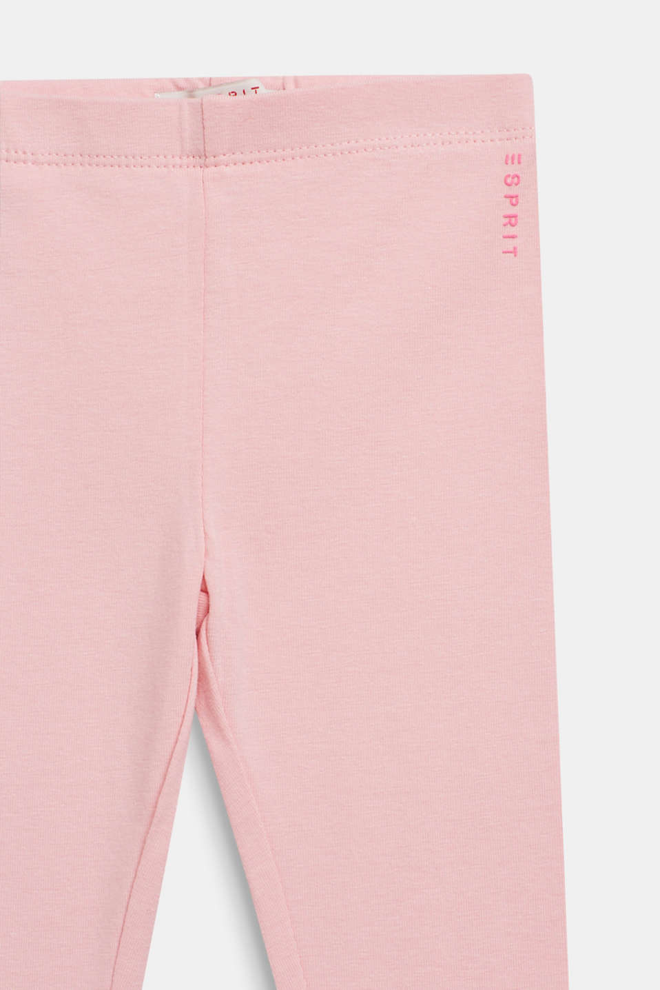 Basic stretch cotton leggings, LCLIGHT PINK, detail image number 2