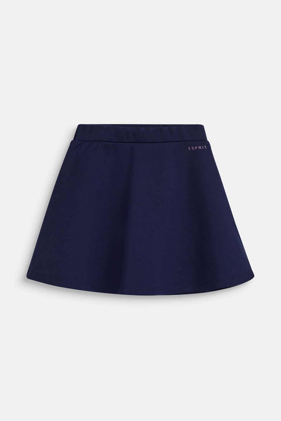 Dense stretch jersey skirt, NAVY, detail image number 0