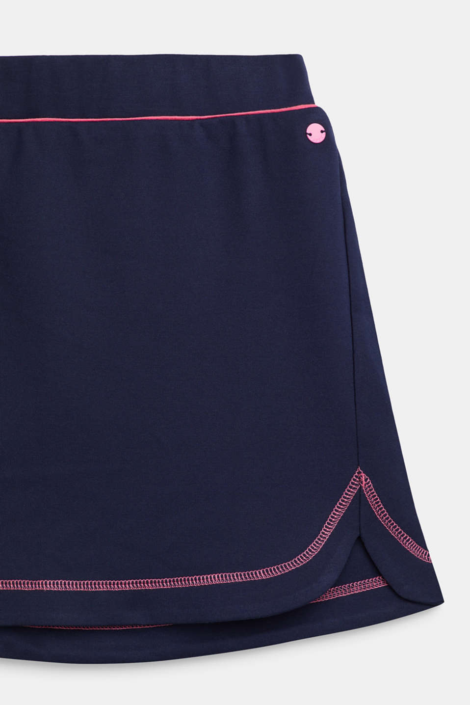 Dense stretch jersey skirt, LCNAVY, detail image number 2