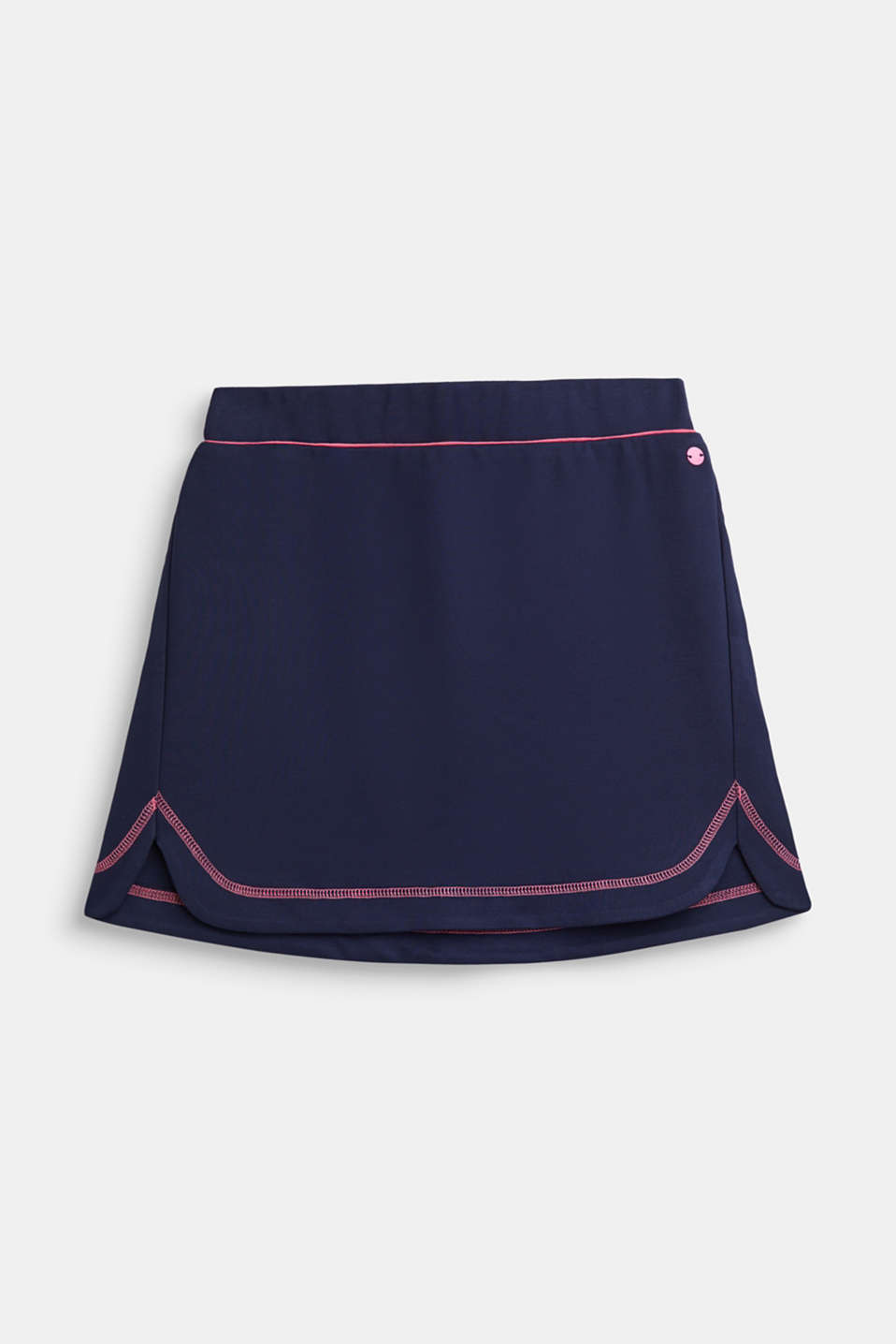 Dense stretch jersey skirt, LCNAVY, detail image number 0