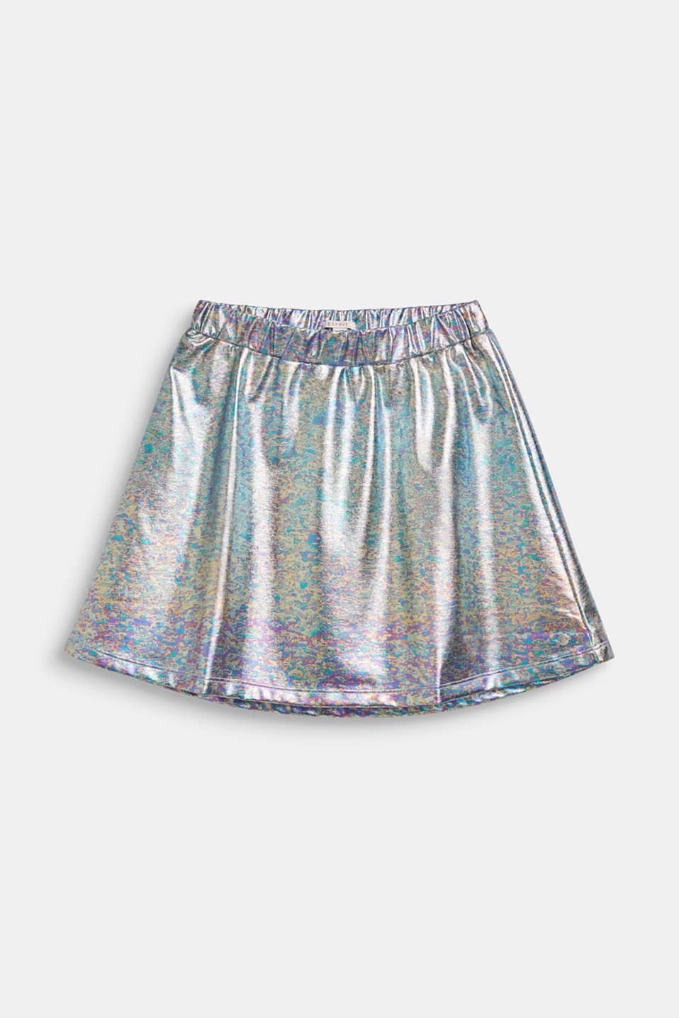 Esprit - Skirt in an iridescent metallic finish