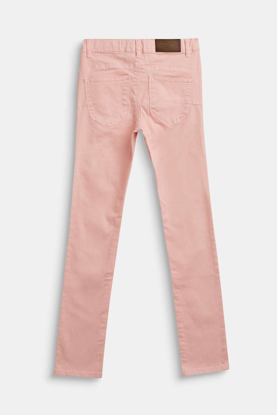 Coloured stretch jeans, LCTINTED ROSE, detail image number 1