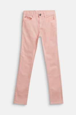 Coloured stretch jeans, LCTINTED ROSE, detail