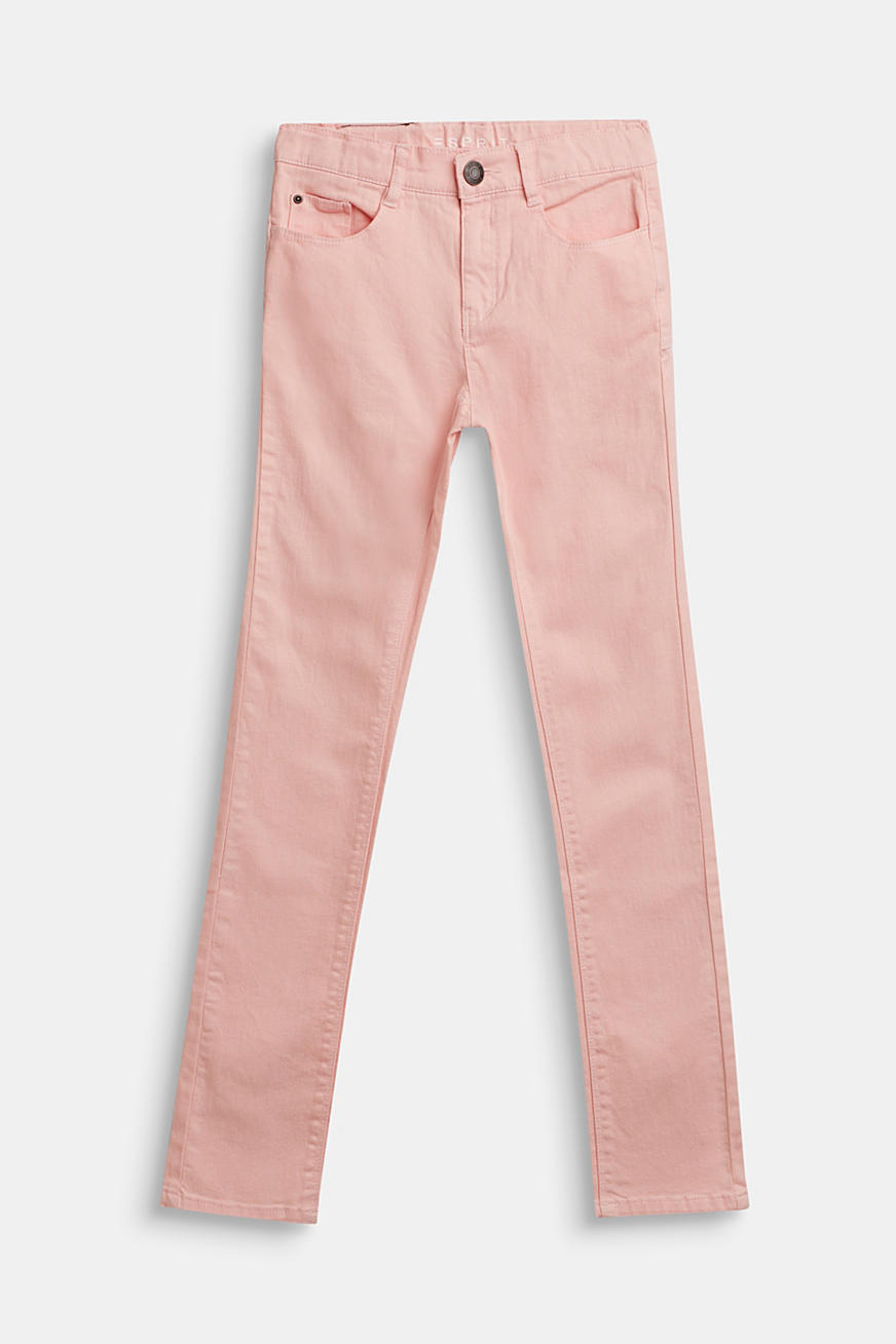 Coloured stretch jeans