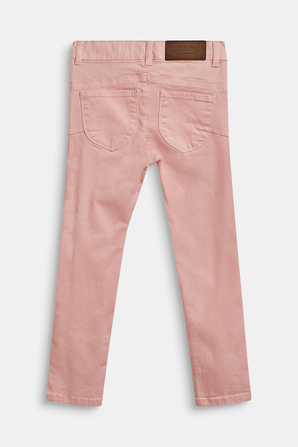 Stretch jeans with an adjustable waist, TINTED ROSE, detail image number 1
