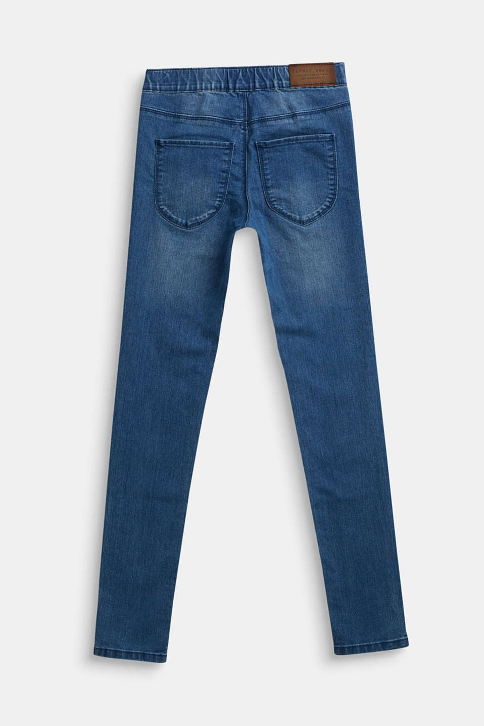 Jeggings with an elasticated waistband, LCMEDIUM WASH DE, detail image number 1