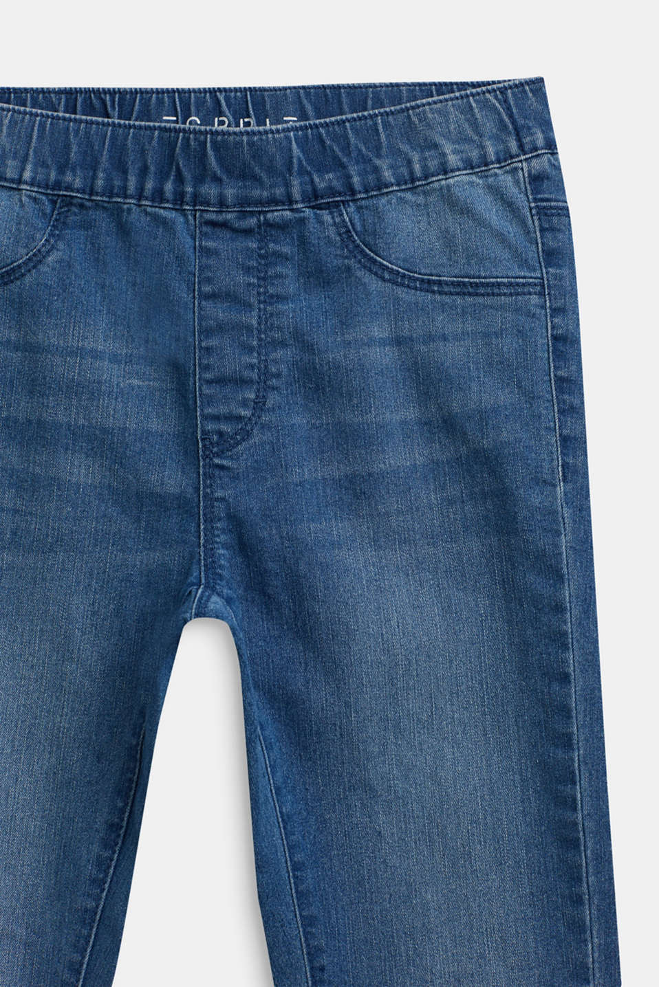 Jeggings with an elasticated waistband, LCMEDIUM WASH DE, detail image number 2