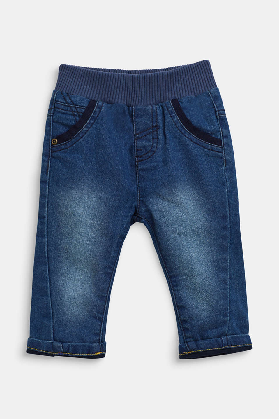 Pants denim, LCMEDIUM WASH DE, detail image number 0