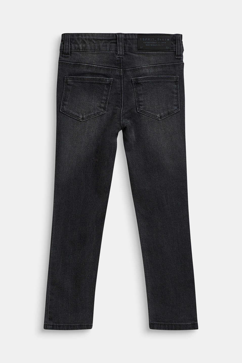 Stretch jeans with an adjustable waist, LIGHT GREY DEN, detail image number 1