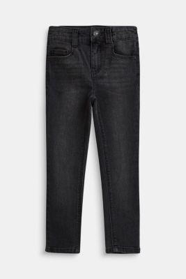 Stretch jeans with an adjustable waist, LIGHT GREY DEN, detail