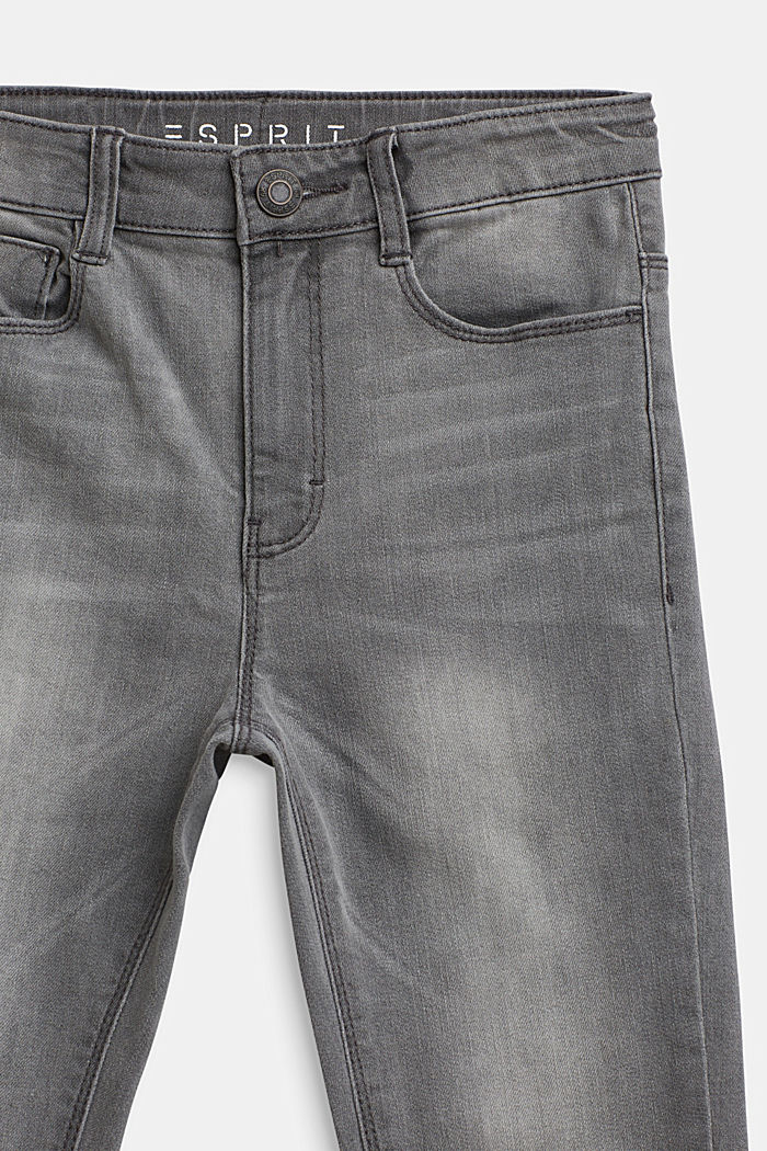 Ankle-length stretch jeans, LCLIGHT GREY DEN, detail image number 2
