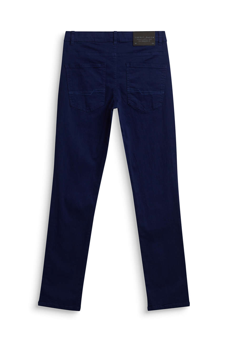 Coloured stretch jeans, adjustable waistband, LCMARINE BLUE, detail image number 1