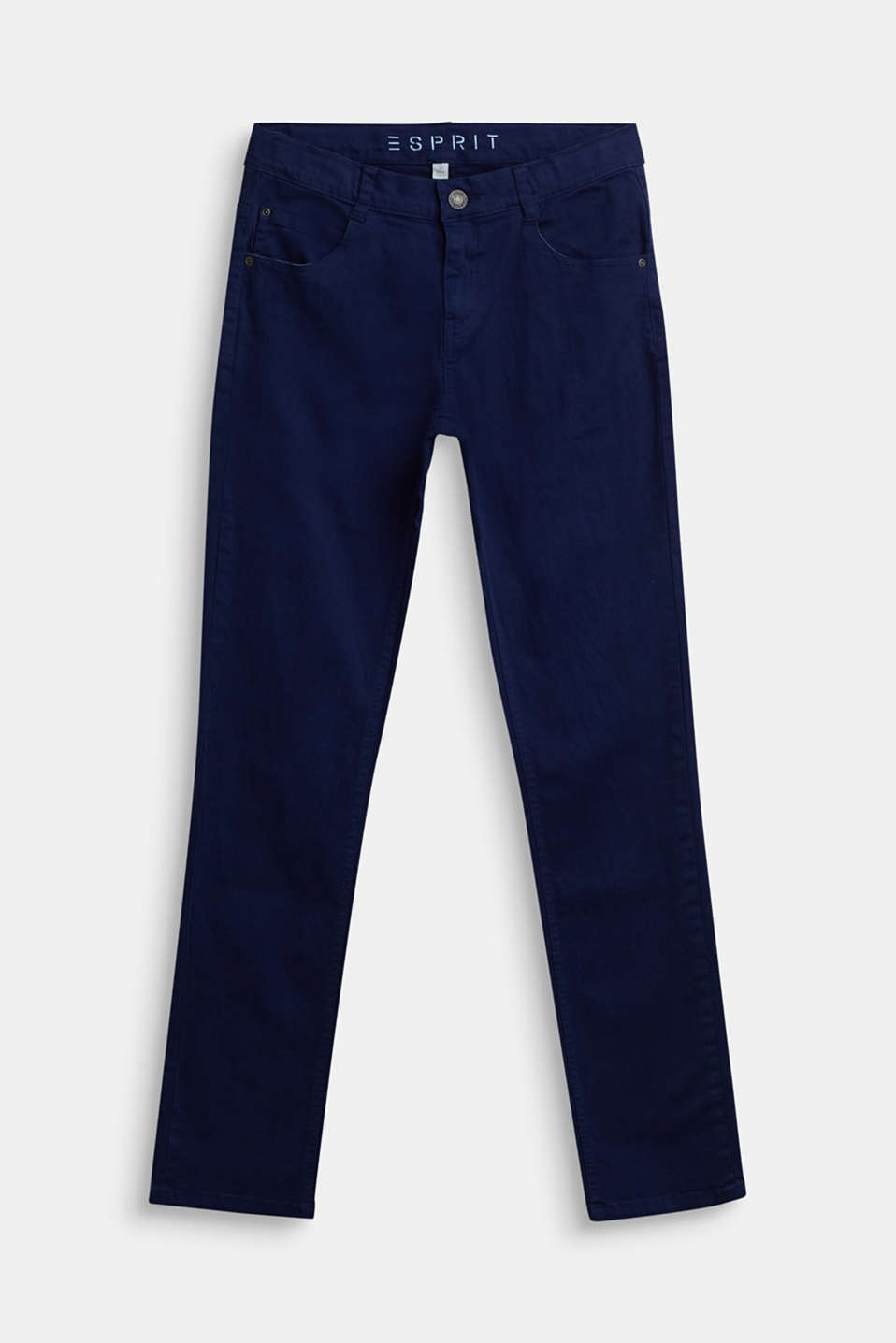 Esprit - Colored Stretch-Jeans, Verstellbund