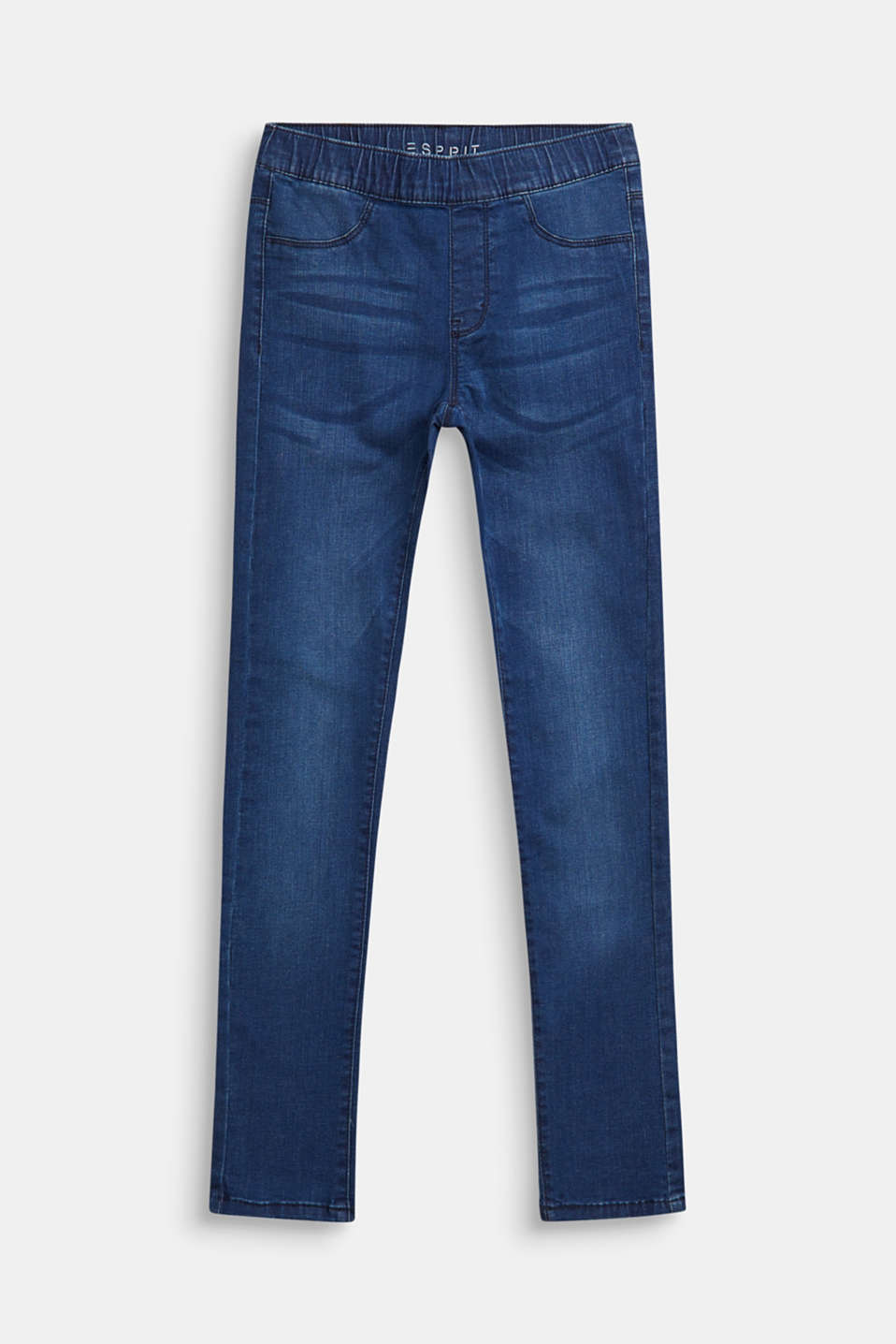 Esprit - Worn-wash jeggings