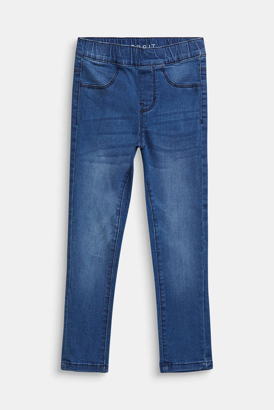 Esprit - Jeggings mit Washed-Effekten