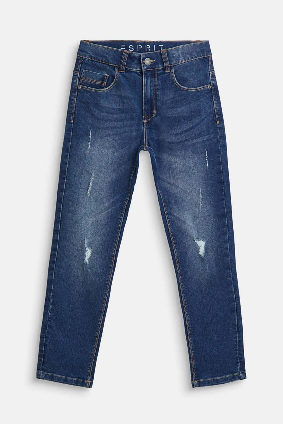 Esprit - Stretchjeans met used look