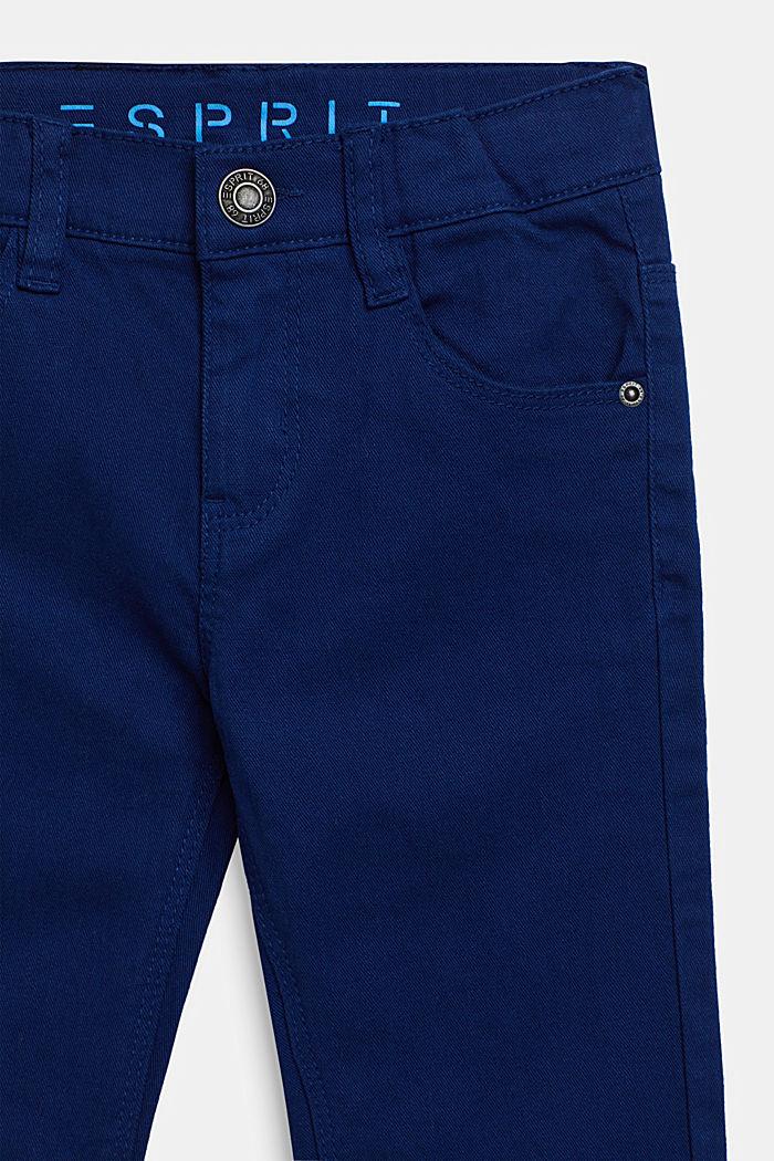Vaqueros elásticos de color con cintura ajustable, indigo, detail image number 2