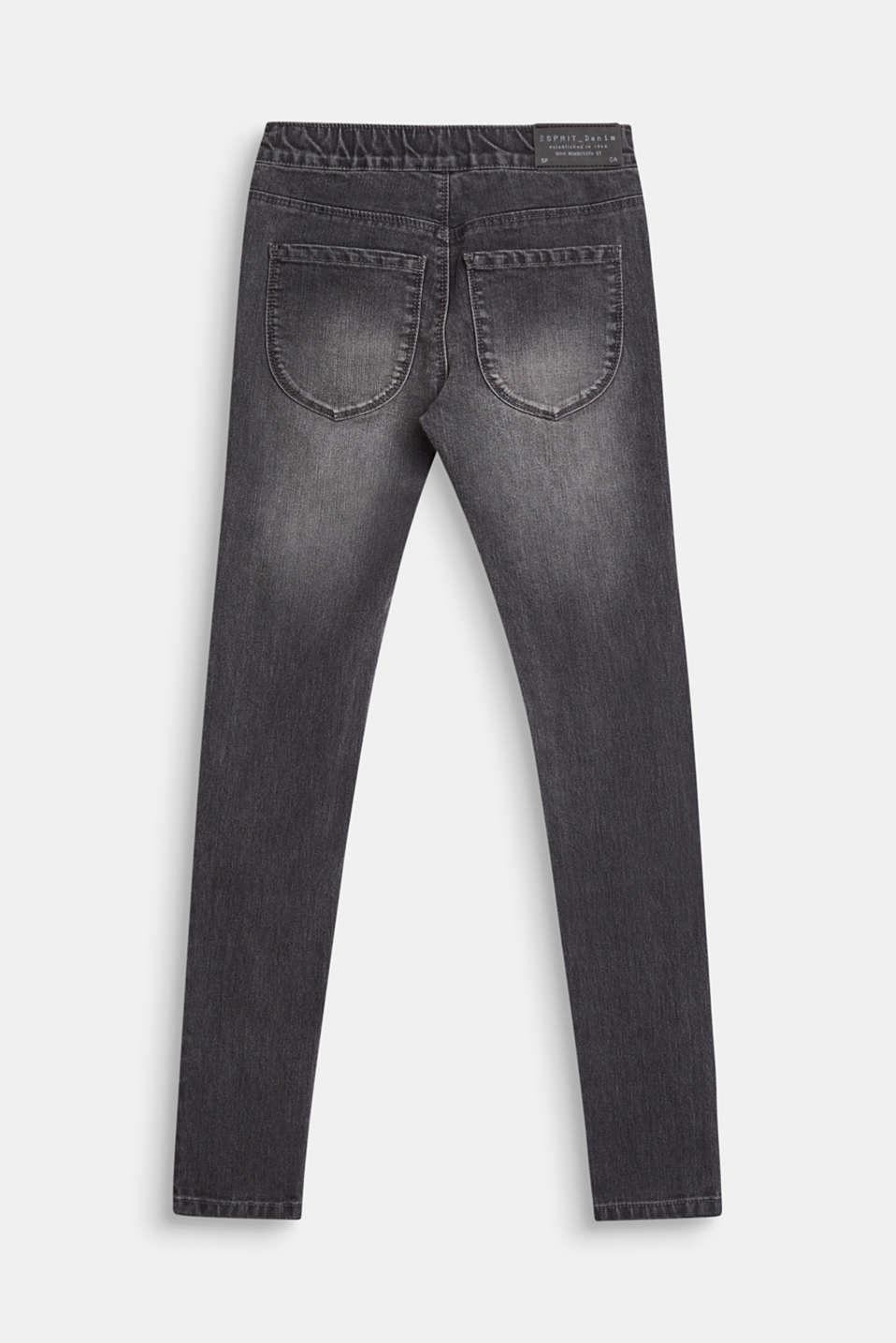 Pants denim, LCGREY DENIM, detail image number 1