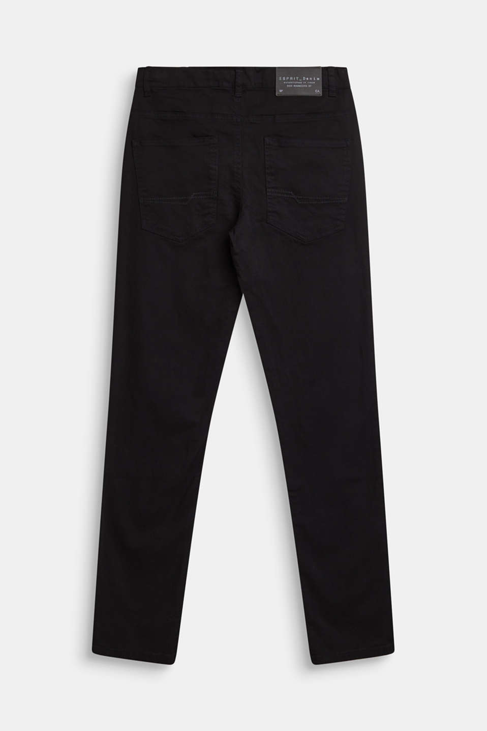Coloured stretch jeans, adjustable waistband, LCBLACK, detail image number 1