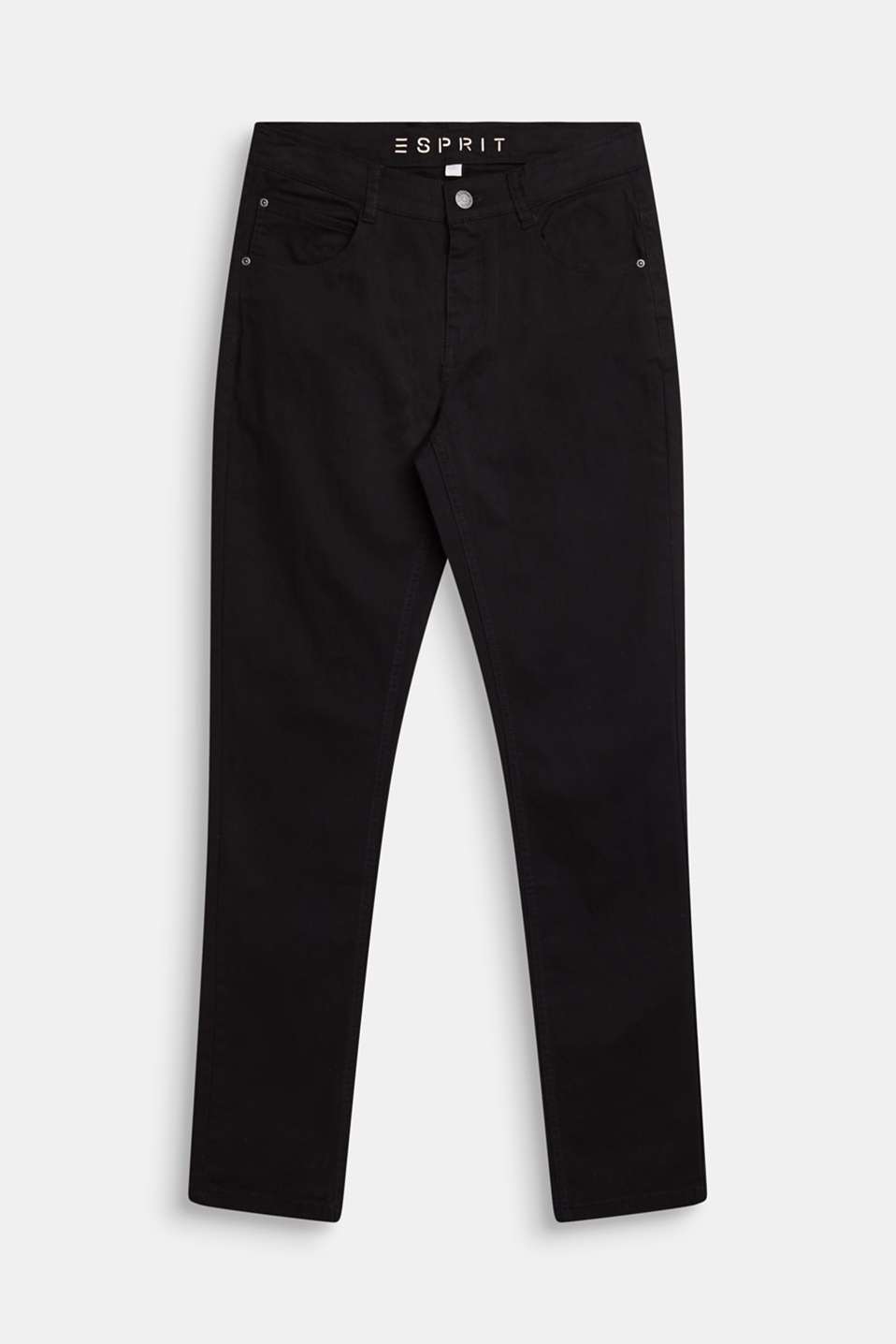 Coloured stretch jeans, adjustable waistband, LCBLACK, detail image number 0