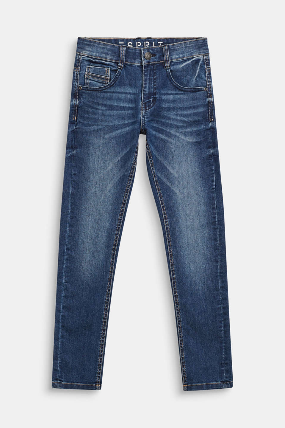 Esprit - Stretch jeans with an adjustable waist