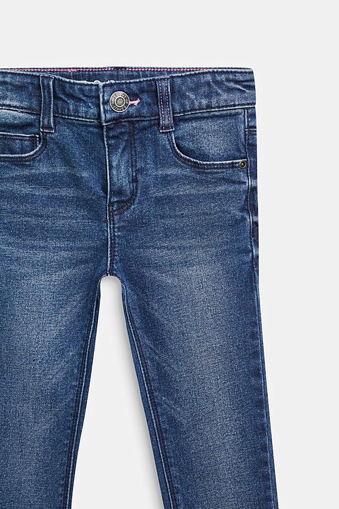 Stretch-Jeans mit Washed Out-Effekt, DARK INDIGO DE, detail image number 2
