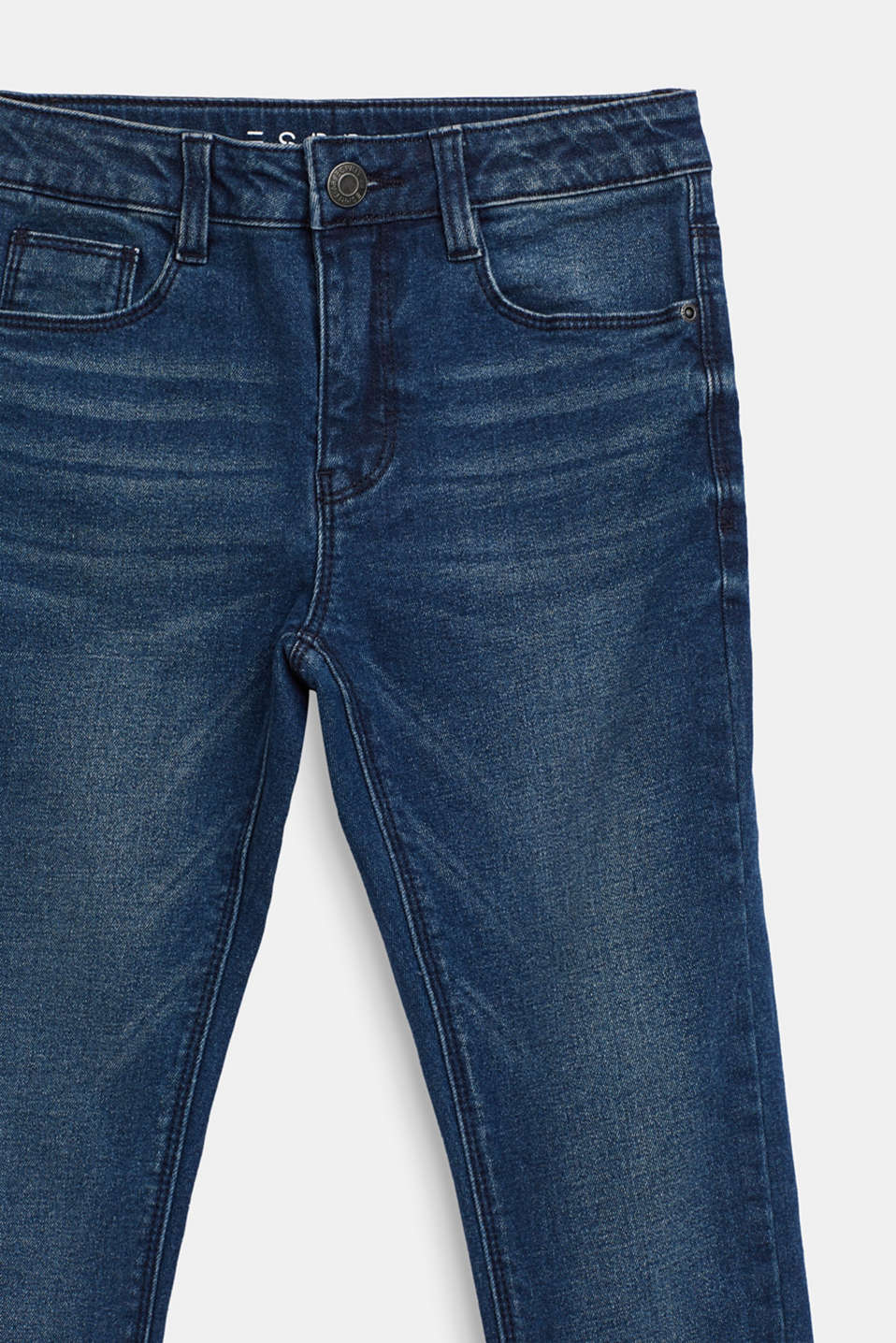 Stretch jeans with soft lining, LCDARK INDIGO DE, detail image number 2
