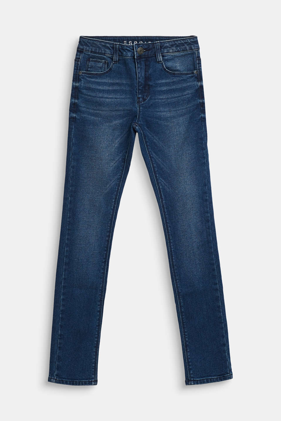 Stretch jeans with soft lining, LCDARK INDIGO DE, detail image number 0